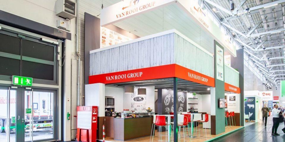 Van ROOI Group beursstand